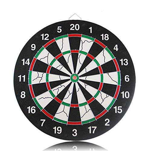 Purchase Lunuolao Regulation Bristle Steel Tip Dartboard Set, High Definition Vibrant Color, Long-La...