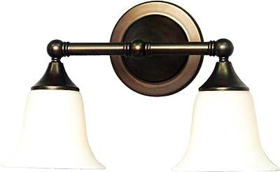 Volume Lighting V1362-27 2-Light Bathroom Vanity, Florence Bronze