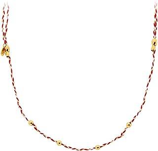 Alex and Ani Precious Threads Royal Cardinal Braid Expandable Necklace