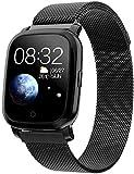 Luckyff Smartwatch, Fitness-GPS-Tracker mit...