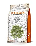 Premium Organic Chaga Mushroom Chunks - 8 oz of Authentic 100% Wild Harvested Canadian Chaga Tea - Superfood