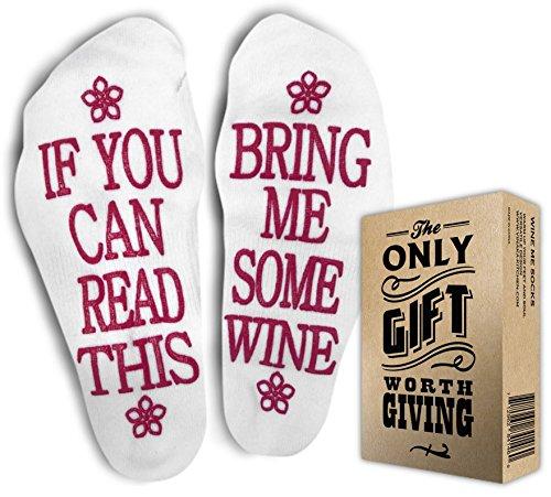 VINAKAS Comfort Cotton Socks + Gift Box - Perfect Gift for Her - Christmas, Birthdays, Mother's day gift, anniversary - Funny Novelty Socks