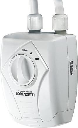 Aquecedor Versátil 220V, 6400W, Lorenzetti, 7560040, Branco, Pequeno