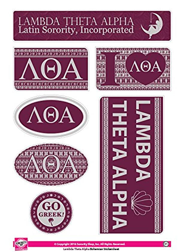 Lambda Theta Alpha - Sticker Sheet - Bohemian Theme