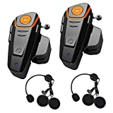 Best Motorcycle Bluetooth Headsets - Baile Bluetooth Headset for Motorcycle Helmet Intercom interphone Review
