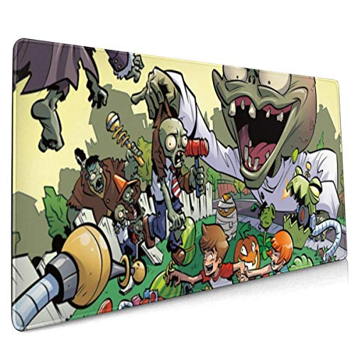 BFGTH Pflanzen VS Zombies Computer Mauspads Gaming Mousepad Mauspad 4090 cm