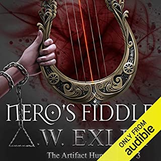 Nero's Fiddle audiobook cover art