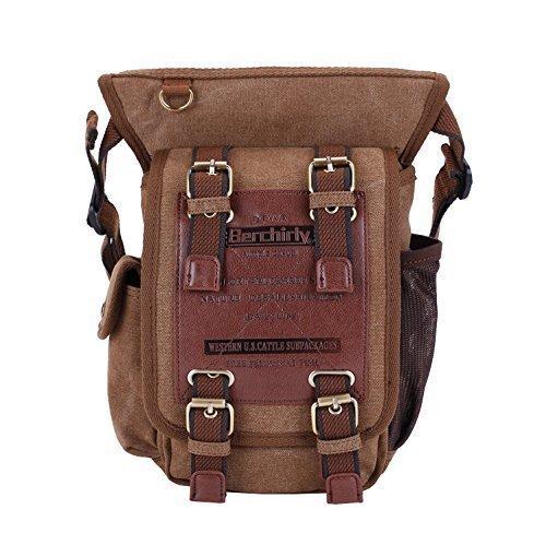 Berchirly Multi-Functional Men Single Cross-Body Messenger Bags Shoulder Chest Pack Bag