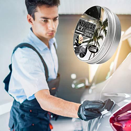 Urhause Autobeschichtung Wachs Desoxidation und Polieren Lackversiegelung sofortiges Nano-Auto-Kratzer-Reparatur Spray für nebelfreie, glänzende Auto-Frontscheiben-Rückspiegel 150ML
