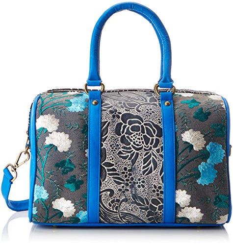 Laura Vita Damen Domont DOMONT Bowling Tasche, Blau (Bleu BLEU)