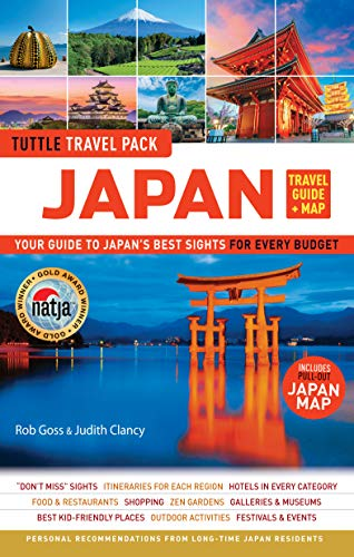 Japan Travel Guide and Map Tuttle Travel Pack: Your Guide to Japan's Best Sights for Every Budget (Includes Pull-Out Japan Map) (Tuttle Travel Guide and Map)