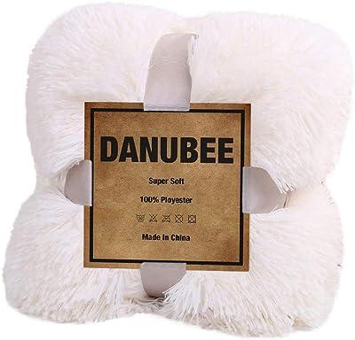 Amazon.com: Dds5391 Soft Comfortable Warm Shaggy Faux Fur ...