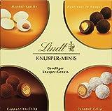 Lindt & Sprüngli Knusper Minis, 4 unterschiedliche Sorten - Ideales Geschenk oder zum selber genießen, 1er Pack (1 x 200 g)