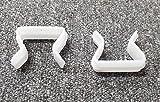 Just Accessories® Plastic U Clips For Divan <span class='highlight'>Bed</span> <span class='highlight'>Bases</span> and Ottoman <span class='highlight'>Bed</span> <span class='highlight'>Bases</span> to join - Plastic U Clips 2 x Plastic U Clips