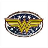 Choppershop Wonder Woman Superheroes Hebilla de cinturón de metal