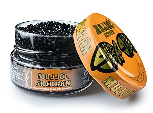 Eurocaviar - Shikran - Meeräsche Rogen Kaviar Perlen Schwarz, 100 g