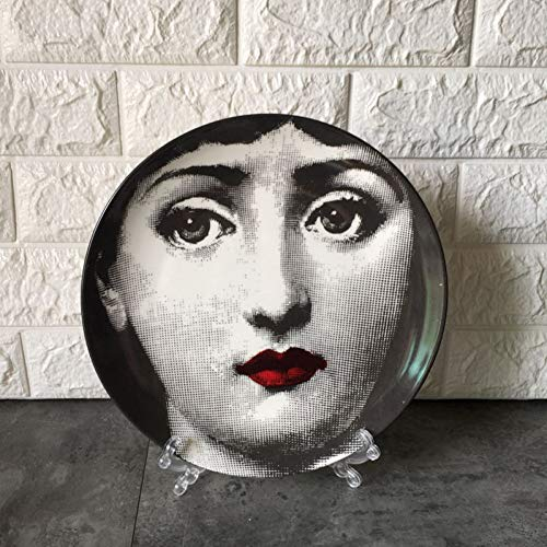 Fornase ttiqk Teller Dekorative Teller Teller Mit Halter Dekoration Keramik Porzellan Kunst Wandteller