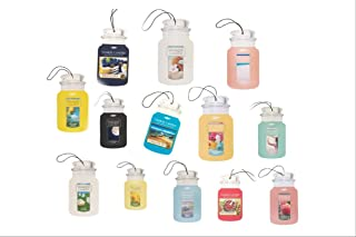 Yankee Candle Car Jars 5 Assorted Variety Scents Paperboard Bundle (Spring and Summer)