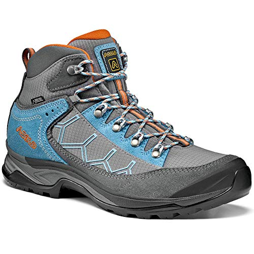 Asolo Women's Falcon GV Hiking Boot Grey/Stone 7.5