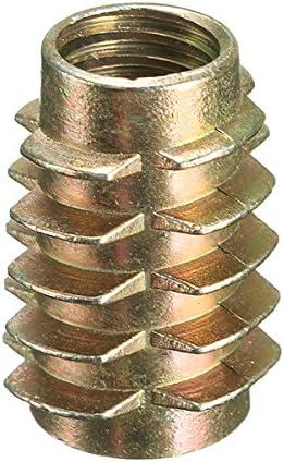 Alamor Tornillo Impulsor Hexagonal De 9 Tama/ños M4 M5 M6 M8 M10 En Inserto Roscado para Madera Tipo E-1