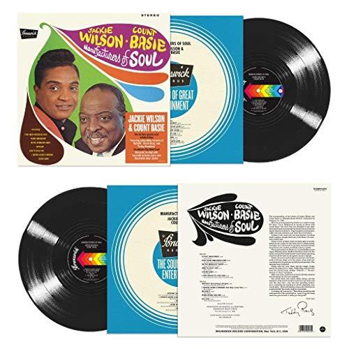 Album Art for Manufacturers Of Soul [140-Gram Black Vinyl] by Wilson, Jackie / Basie, Count