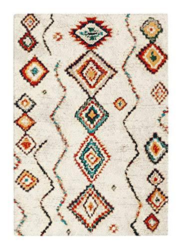 BALTA Tapis Motif Berbère - Azilal Multicolore (140 x 200 cm)