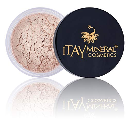 makeup powders Itay Mineral Cosmetics Highlighter Makeup Powder For Gorgeous Radiant Skin – Translucent Face Setting Powder With Mica Minerals (#8 Orion)