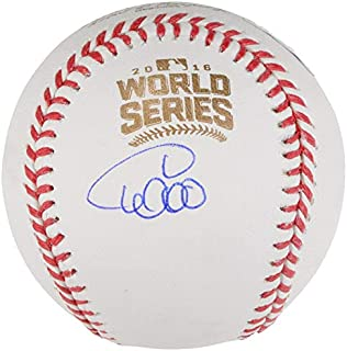 Willson Contreras Chicago Cubs Signed Autograph Official World Series MLB Baseball Steiner Sports Certified