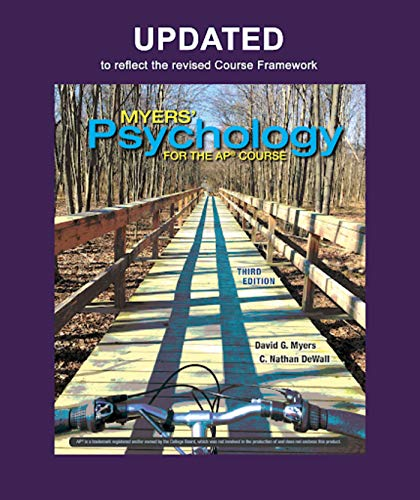 Updated Myers' Psychology for AP®