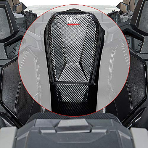Kemimoto Updated Maverick X3 Storage Center Between Seats Shoulder Console Cargo Bag Compatible with Can Am Maverick X3 MAX XRS XDS Turbo R RR 2017 2018 2019 2020 2021
