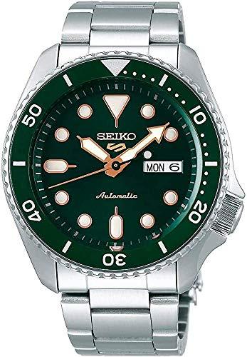 Seiko SRPD63 Seiko 5 Sports Men's Watch Silver-Tone 42.5mm Stainless Steel