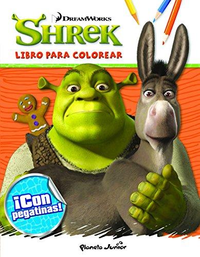 Shrek. Libro para colorear (Dreamworks. Shrek)