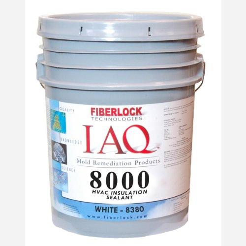 Fiberlock 8380 IAQ 8000 Mold Resistant Coating White 5 Gallon