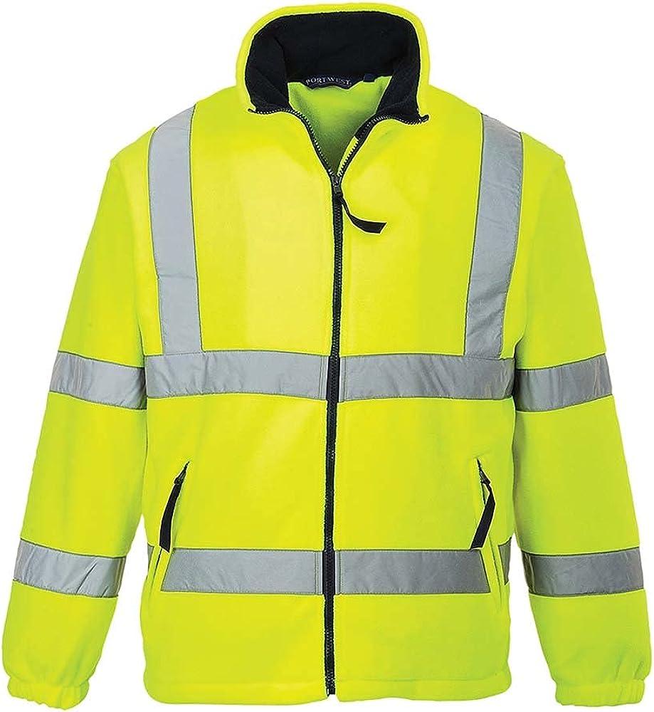Portwest Workwear Mens Hi-Vis favorite Fleece Lined Mesh Limited time sale