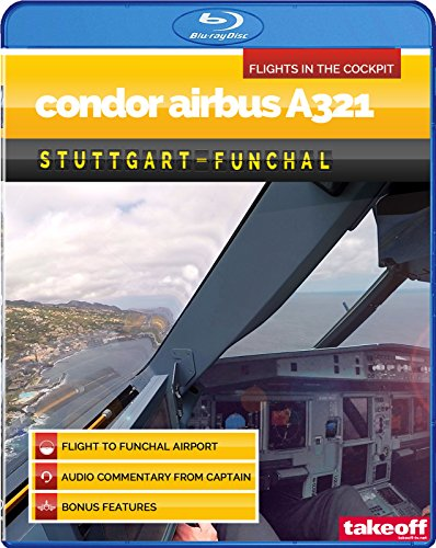 Condor Airbus A321 - Flight in the Cockpit to Funchal Airport