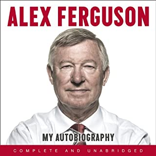 Alex Ferguson audiobook cover art