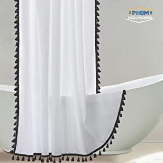 Best black tassel shower curtain Reviews