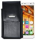 Vertikal Etui für / Elephone S3 / Köcher Tasche Hülle Ledertasche Vertical Hülle Handytasche mit einer Gürtelschlaufe auf der Rückseite