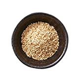 Semillas de sésamo blanco 'Med Cuisine' - Crudo No Tostado, alto en proteínas, vitamina B, hierro, calcio, vegano y sin gluten - 500gr