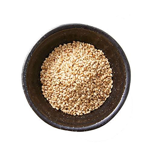 """Semillas de sésamo blanco """"Med Cuisine"""" - Crudo No Tostado, alto en proteínas, vitamina B, hierro, calcio, vegano y sin gluten - 500gr"""