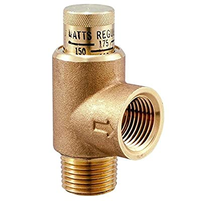 Watts LF530C-3/4 Lead Free Calibrated Pressure Relief Valves 3/4-Inch Adjustable from Watts