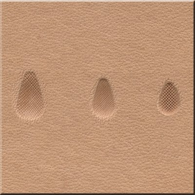 New Stamping Tool Sets Checkered Pear Shader 3 Pieces Guaranteed for Life!