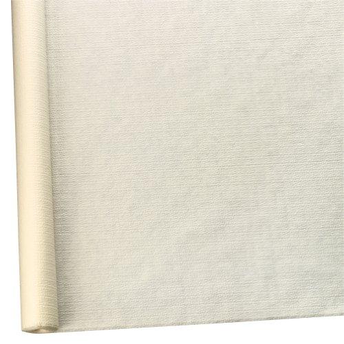 Susy Card 11096039 Tischtuchrolle, Papier, bedruckt, 1.18 x 7 m, geprägt creme