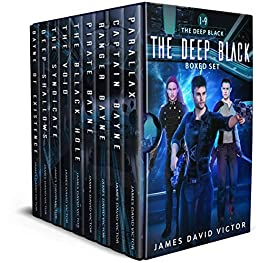 The Deep Black Space Opera Boxed Set Kindle Edition by James David Victor  (Author)