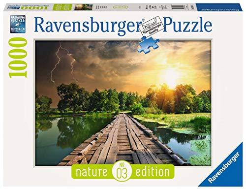 Ravensburger 19538, Puzzle 1000 Pezzi, Luce Mistica, Nature Edition, Puzzle per Adulti