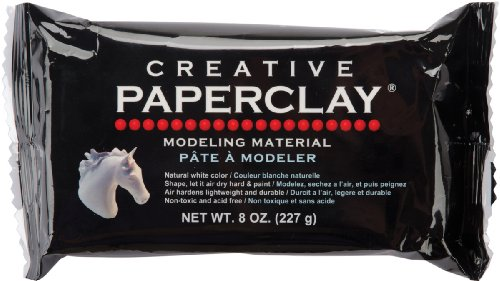 Creative Paperclay Liquid 8oz-White