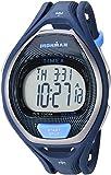 Timex Unisex TW5M17600 Ironman Sleek 50 Full-Size Blue/Black Resin Strap Watch