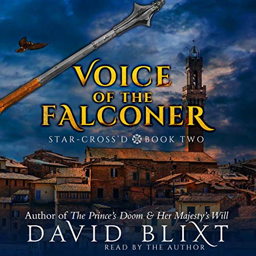 Voice of the Falconer Audiobook By David Blixt cover art
