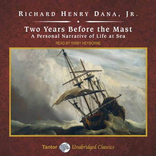 Two Years Before the Mast audiobook cover art
