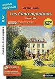Les Contemplations, livres I à IV - BAC 2020 Parcours associés Les Mémoires d'une âme - Carrés Classiques Œuvres Intégrales
